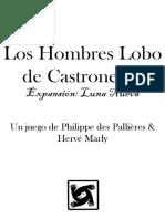 Hombres Lobo de Castronegro Luna Nueva. Reglamento + Cartas