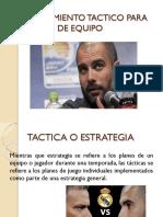 Entrenamiento Táctico Para Deportes de Equipo...