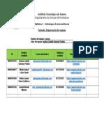 1. Organización de Equipos (1)