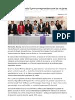 14-09-2018-Cumple Gobierno de Sonora Compromisos Con Las Mujeres - Las5