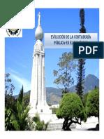 Evolución de La Contaduría Pública en El Salvador