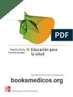 Educacion Para La Salud Zurita_booksmedicos.org