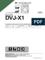 Pioneer DVJ-X1