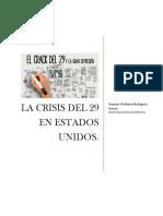La Crisis Económica de 1929. La Gran Depresión.