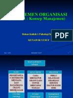Man Org 1 Konsep Manajemen
