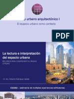 Lectura Del Paisaje Urbano Herramientas Gráficas y Teóricas