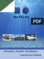 H2O on the Go Brochure