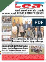 Periódico Lea Jueves 27 de Septiembre Del 2018