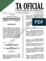 GacetaExtraordinaria6238OrganizacionPublicaNacional