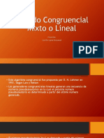 Metodo Congruencial Lineal