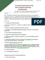 Medical Reimbursement Information