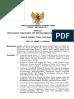 Persyaratan Teknis Jalan Dan Kriteria Perencanaan Teknis Jalan
