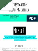 Ayuda sobre logistica y distribucion de Nestle y Fallabela