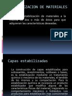 4.- II. Estabilizaciones
