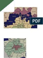Mapas de Las Delegaciones Por Agencia