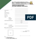 Formulir pendaftaran calon pengurus osis terbaru.doc
