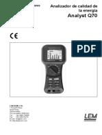Q70 Manual ES