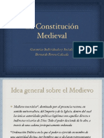 La Constitución Medieval