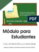Modulo i Matematica y Su Aprendizaje