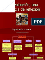 La evaluación, una instancia de reflexión