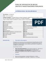 Seccion Especifica Peru 2018 0