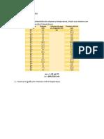 coeficiente de expansión de los gases Cuestionario