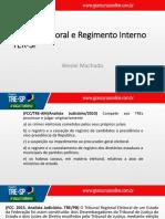Direito Eleitoral e Regimento Interno TRE-SP