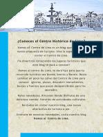 Mi blog Vamos al Centro de Lima