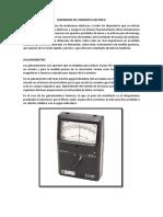 Tarea 3-Medidores de Corriente Eléctrica