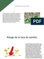 Aumento Del Dólar en La Economía Colombiana