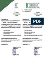 54 Surat Pemberitahuan Biaya PTS 2018