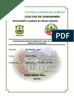 Ecologia agricola