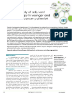 A Clinical Study of Adjuvant Chemotherapy in Younger and Elder Rectal Cancer Patientsa