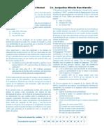 Ejercicios de Distribucion de Normal Para Alumnos 2018-3