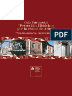 Guía Patrimonial Reciorridos Históricos por la ciudad de Arica (1)