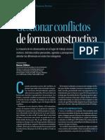 Harvard Lectura Gestionar Conflictos de Manera Constructiva