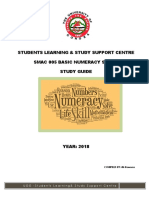 SMAC 005 Basic Numeracy Skills (Study Guide) 2