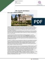 A Villa Caprile si parla del futuro dell'agricoltura italiana - Vivere Pesaro.it, 26 settembre 2018