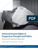 Universal Human Rights in Progressive Thought and Politics