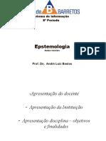 Epstemologia - Teoria Do Conhecimento