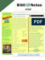 BiblioNotas-CCUC Octubre, 2010