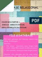 DATABASE RELASIONAL