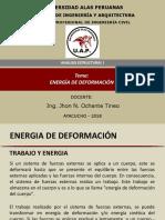 2. Energía de Deformación