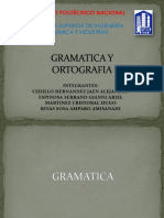 Gramatica y Ortografia