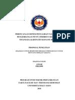PERENCANAAN SISTEM PENYALIRAN TAMBANG PADA PENGEMBANGAN PIT PT.docx