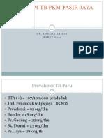 Program Tb Pkm Pasir Jaya Maret 2014