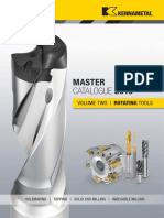 Master Catalog 2018 Vol. 2 Rotating Tools English Metric