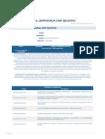 Chef Ejecutivo - Perfil de Competencia Laboral