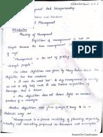 Me Notes Module 1