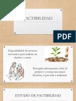 FACTIBILIDAD (factibilidad privada, publica)